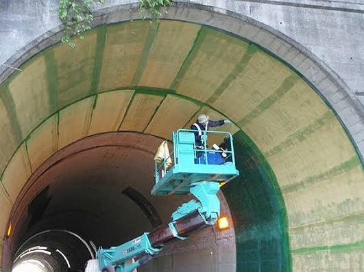 トンネル アラミド施工