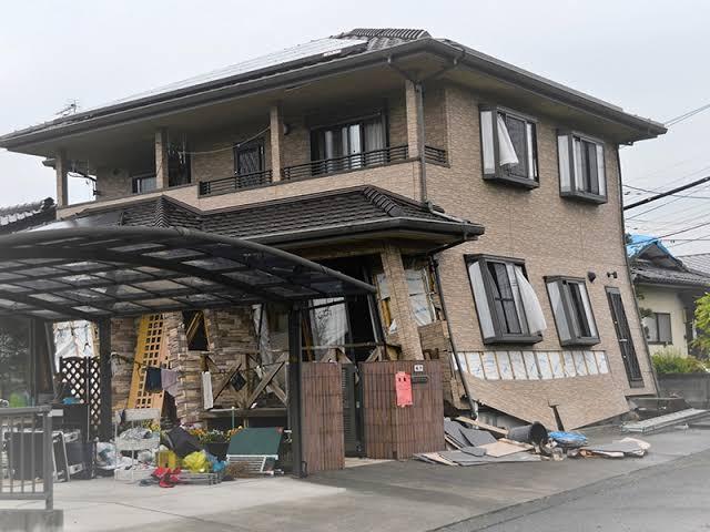 熊本地震 赤札